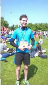 Iain Paterson Edinburgh Marathon 2016